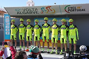 Portugal - Algarve - Lagos - 2016 Volta ao Algarve - cycle team (25673998842).jpg