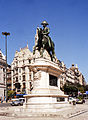 Portugalia Porto plac wolności pomnik Pedra IV 02.jpg