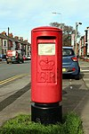 Post box on Rathbone Road 2017.jpg