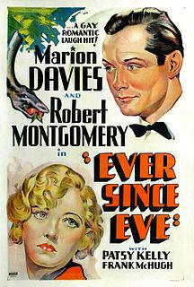 <i>Ever Since Eve</i> 1937 film