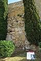 Poterna, puerta en muralla tapiada, Muralla de Tarragona, 02.jpg