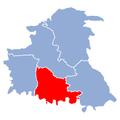 Powiat chrzanowski gmina babice.png
