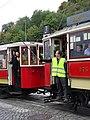 Průvod tramvají 2015, 07b - tramvaj 275 a 624.jpg