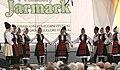 Praha, Staré Město, Ovocný trh, Pražský jarmark, srbské tanečnice V.JPG