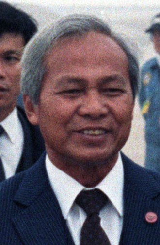 Prem Tinsulanonda - Prem Tinsulanonda on a state visit to the US, 14 April 1984.