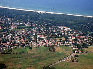 Prerow Place in Mecklenburg-Vorpommern, Germany