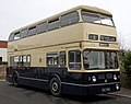 Preserved Birmingham City Transport bus 3796 (NOV 796G) 1968 Daimler Fleetline Park Royal, Wythall Transport Museum, 4 April 2011.jpg