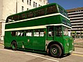 Preserved Liverpool Corporation bus A36 (NKD 536) 1953 AEC Regent III Crossley, Merseyside Transport Trust Easter running day 2011 (9).jpg