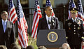 President Barack Obama speaks during a remembrance ceremony at the Pentagon Memorial Sept 120911-D-NI589-613.jpg