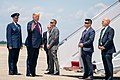 President Trump Arrives at Joint Base Andrews (48135443068).jpg