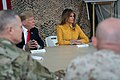 President Trump the First Lady Visit Troops in Iraq (46502788011).jpg