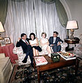 President and Mrs. Kennedy with Mr. and Mrs. Benjamin Bradlee.jpg