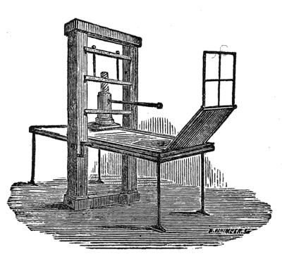 Press skeen 1872 with description