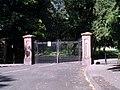 Princes Park Gates, Belvidere Road.JPG
