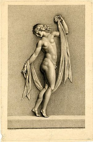 Femminiello - Hermaphroditus, the son of Hermes and Aphrodite.