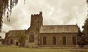 Priory Church of St Mary, Abergavenny - Image: Priory Church of St Mary