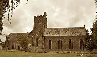 Priory Church of St Mary, Abergavenny Church in Monmouthshire, Wales