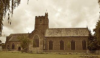 Priory Church of St Mary, Abergavenny - Image: Priory Church of St Mary
