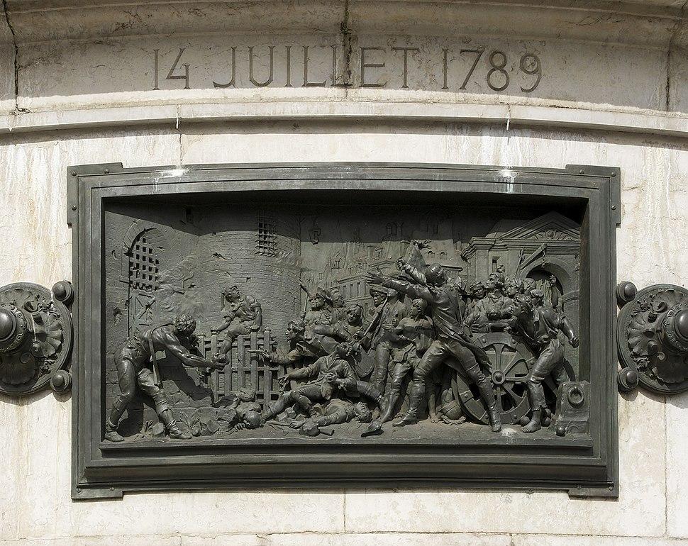 Prise de la storming of the Bastille 14 july 1789