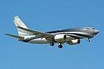 Private, Boeing 737-700 M-GEAA NRT (18134235958).jpg