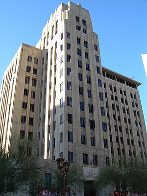 Valley National Bank of Arizona - The Professional Building was built in 1932 to house the growing Valley Bank and Trust.