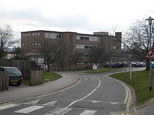 Prospect School - Prospect School from the Cockney Hill entrance