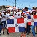 Protestas dominicanas en Curazao 2020.jpg