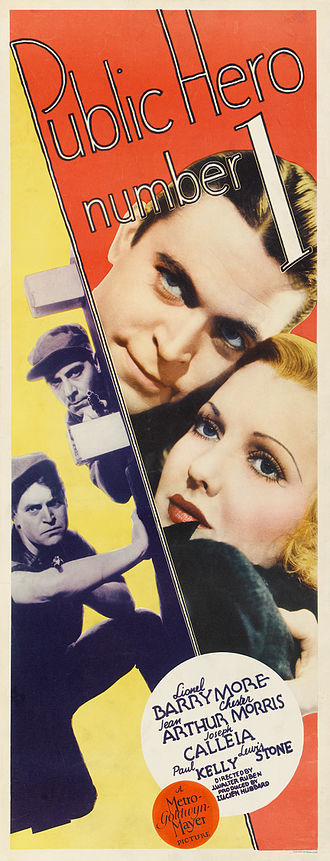 Public Hero No. 1 - Image: Public Hero Number One 1935 Poster 2