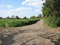 Public footpath to Chequers Close - geograph.org.uk - 1278169.jpg