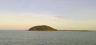 Makassar Strait - Image: Pulau Aur (Kalimantan Selatan)