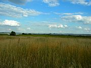 Pulemets Shatskyi Volynska-archaeological site Gord-view on lake.jpg