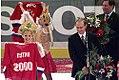 Putin at 2000 Ice Hockey World Championship.jpg
