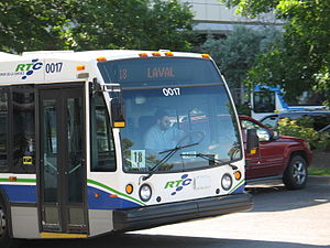 Réseau de transport de la Capitale - Image: Québec RTC Nova Bus LFS