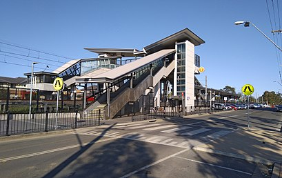 How to get to Quakers Hill Station with public transport- About the place