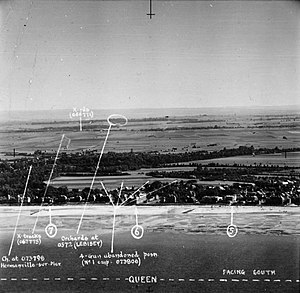 Sword Beach - Queen beach, dated 16 August 1943