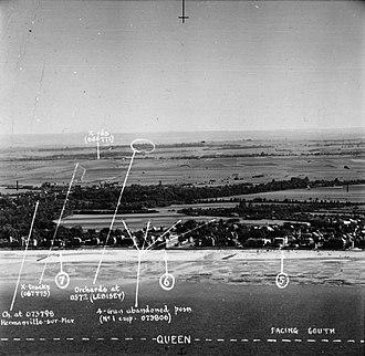 Sword Beach - Queen beach, dated 16 August 1943