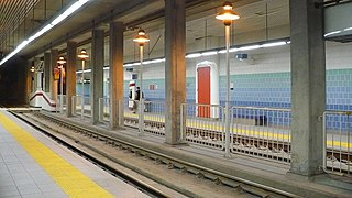 Queens Quay station streetcar station in Toronto, Canada