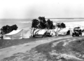 Queensland State Archives 1115 Camping ground at Caloundra December 1930.png