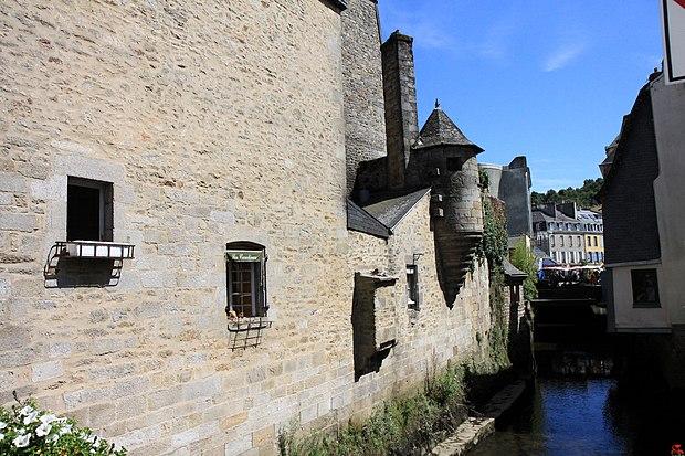 Monument historique à Quimper