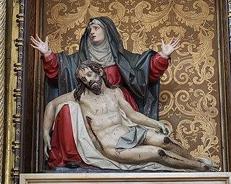 Pietà (Gregorio Fernández) - Image: Quinta Angustia 20131226