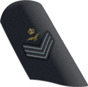 RAF other ranks - Image: RAF Flt Sgt AC OR 7