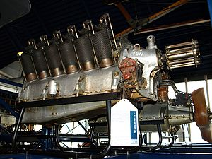 RAF 4 - Preserved RAF 4a engine at the Science Museum (London)