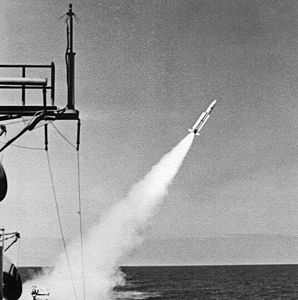 RIM-24 launch from USS Berkeley (DDG-15) 1970.jpg