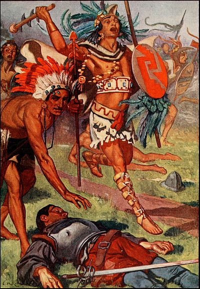 ROHM D273 Aztecs continue their assault against the conquistadors.jpg