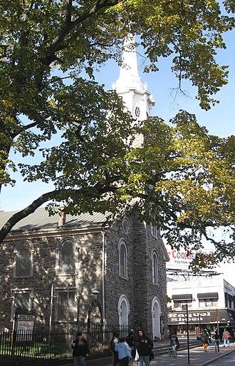 Flatbush, Brooklyn - Reformed Protestant Dutch Church of Flatbush, founded in 1654