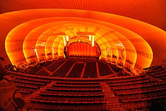 Radio City Music Hall - Auditorium and stage