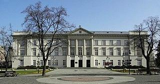 Radom Place in Masovian Voivodeship, Poland