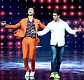 Raghav Juyal on the sets of 'Dance +'.jpg