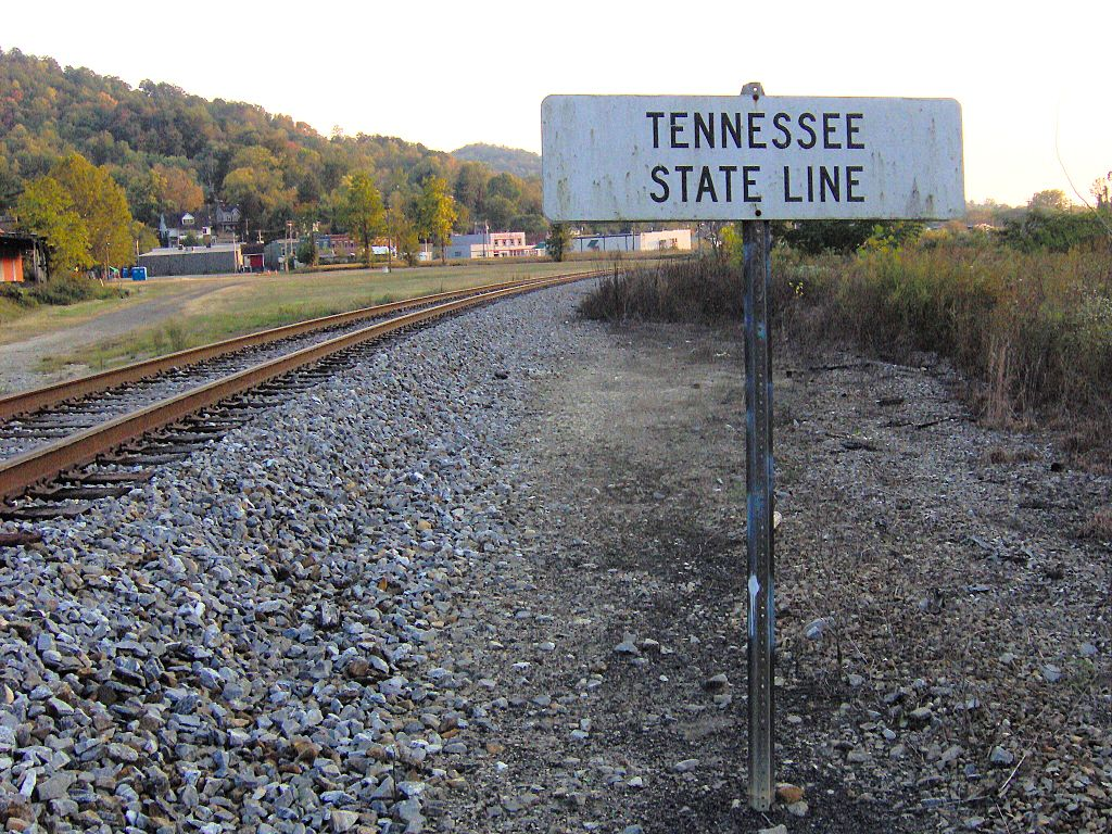 Jellico (TN) United States  city images : ... Tennessee Kentucky state line in Jellico, Tennessee , United States