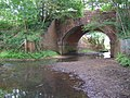 Railway arch allowing the Beaulieu River to pass under the tracks (2) - geograph.org.uk - 188547.jpg